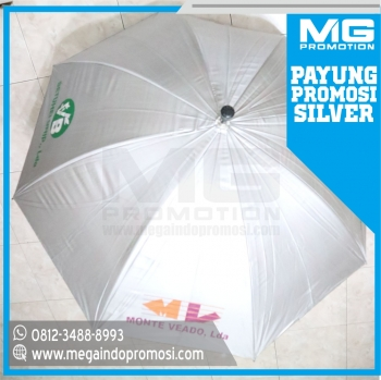 Payung Golf Promosi Silver