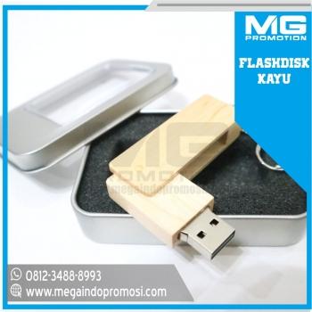 Flashdisk Promosi USB Kayu