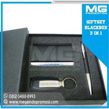 Giftset Promosi S5 Black 3 in 1